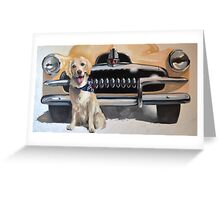 FERGUS AND HIS FJ Feat. 1954 FJ Holden Greeting Card