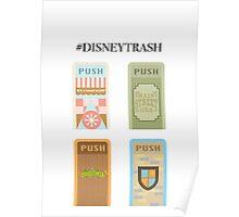 """#Trash"" Trash Can Designs Poster"