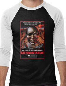 Say You Love Satan 80s Horror Podcast - Burial Ground Men's Baseball ¾ T-Shirt