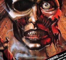 Say You Love Satan 80s Horror Podcast - Burial Ground Sticker