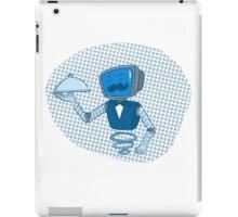 Robot butler iPad Case/Skin