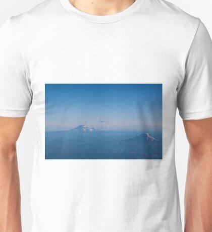 Conversation in Blue Unisex T-Shirt