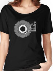 Record player vinyl Women's Relaxed Fit T-Shirt