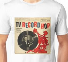 TV Record Hop, 50's lp Unisex T-Shirt