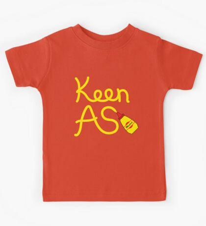 Keen As Mustard by Decibel Clothing Kids Tee