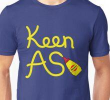 Keen As Mustard by Decibel Clothing Unisex T-Shirt
