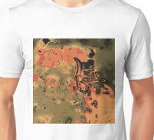 orange green and brown painting abstract  Unisex T-Shirt
