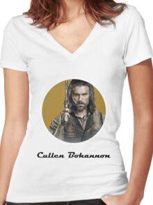 Cullen Bohannon Women's Fitted V-Neck T-Shirt
