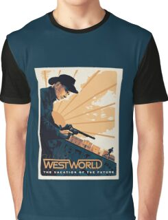 WEST WORLD Gifts and Merchandise Graphic T-Shirt