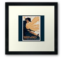 WEST WORLD Gifts and Merchandise Framed Print