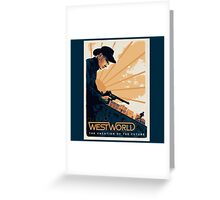WEST WORLD Gifts and Merchandise Greeting Card