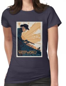 WEST WORLD Gifts and Merchandise Womens Fitted T-Shirt