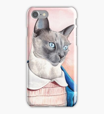 Eleven The Cat iPhone Case/Skin
