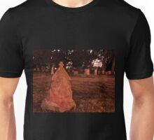 Ghost at Her Tomb Unisex T-Shirt