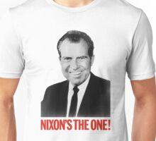 Nixon's The One! - Richard Nixon 1968 Campaign Unisex T-Shirt