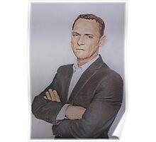 Billy Mitchell - Eastenders fan art Poster