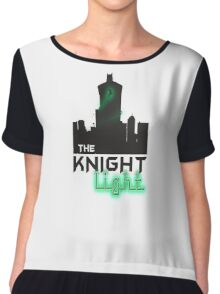 The knight light podcast merch  Chiffon Top