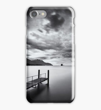 The dark side of the lake iPhone Case/Skin