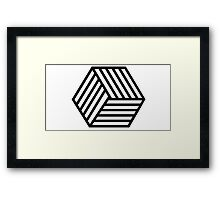 Vector Graphic Framed Print