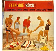 Teen Age Rock! 1950's Rockabilly LP Photographic Print