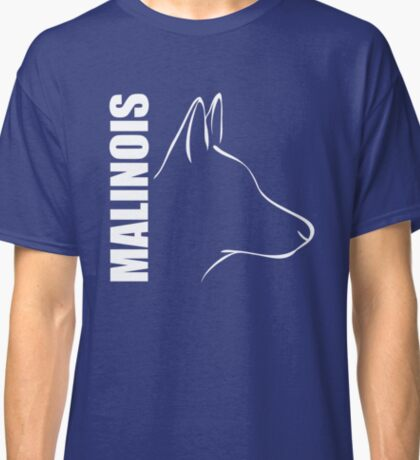 Belgian MALINOIS - outline Classic T-Shirt