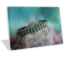 Crystals: Turquoise on Calcite Laptop Skin