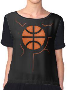 Basketball Reactor Chiffon Top