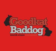 Goodkat & Baddog (Lucky Number Slevin) One Piece - Short Sleeve