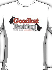 Goodkat & Baddog (Lucky Number Slevin) T-Shirt