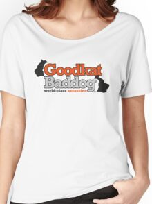 Goodkat & Baddog (Lucky Number Slevin) Women's Relaxed Fit T-Shirt
