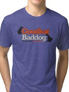 Goodkat & Baddog (Lucky Number Slevin) Tri-blend T-Shirt