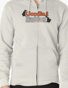 Goodkat & Baddog (Lucky Number Slevin) Zipped Hoodie
