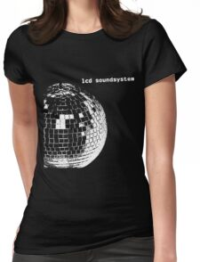 LCD Soundsystem Logo Womens Fitted T-Shirt
