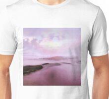 Pink beach Unisex T-Shirt