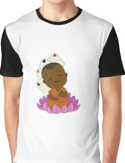 Magic Buddha Graphic T-Shirt