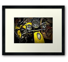 Native Ride Framed Print