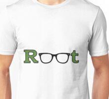 "Root ""Glasses Green"" Unisex T-Shirt"