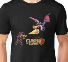 wizard vs dragon Unisex T-Shirt