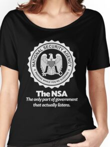 The NSA Women's Relaxed Fit T-Shirt