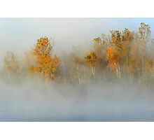 October morning Photographic Print