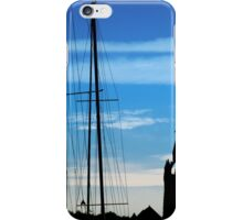 Masts and Towers iPhone Case/Skin