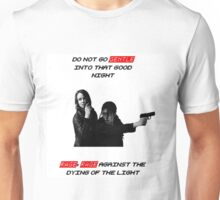 """Person of Interest """"Root & Shaw"""" (Full) Unisex T-Shirt"""