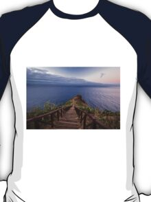 Lonely Path to the Seacoast - Travel Photograhy T-Shirt