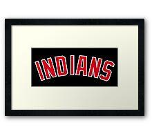 Indians Framed Print