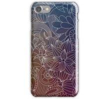 Dark Flower Garden iPhone Case/Skin