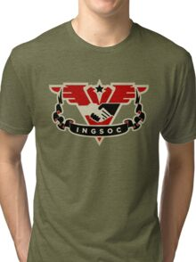 1984 INGSOC Emblem Tri-blend T-Shirt