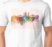 Cork skyline in watercolor background Unisex T-Shirt