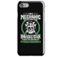 Mechanic T-shirt iPhone Case/Skin