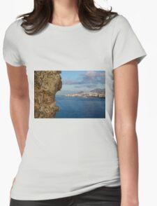 Hungry Rock - Travel Photography Womens Fitted T-Shirt