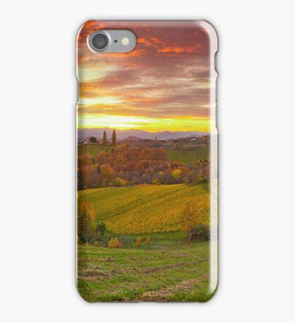 Styrian Hills Panorama iPhone Case/Skin